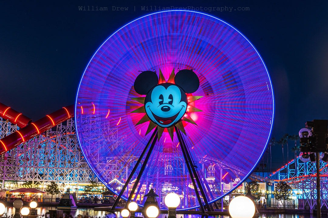 Mickey Mouse Ferris Wheel Photograph