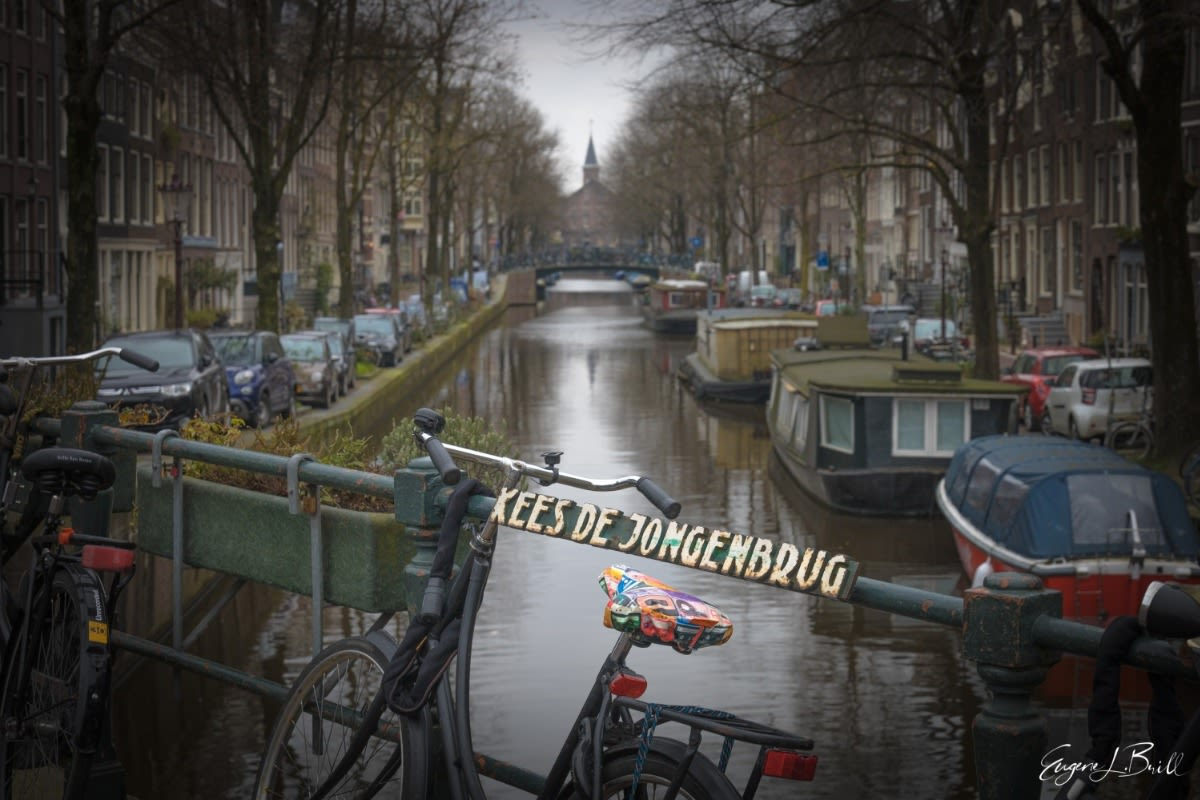 Bicycles of Amsterdam by Eugene Brill