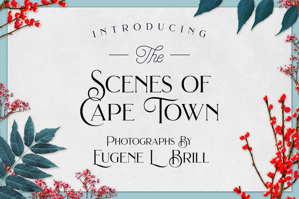Scenes of Cape Town by Eugene Brill