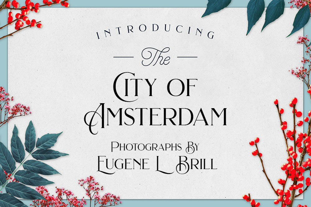 City of Amsterdam by Eugene Brill