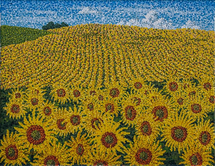 Field of Sunflowers Print