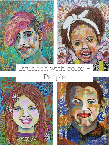 Brushed with Color People