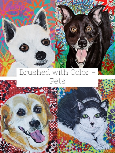 Brushed with Color Pets