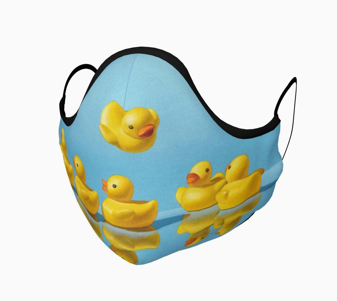 Getting All Your Ducks in a Row face mask