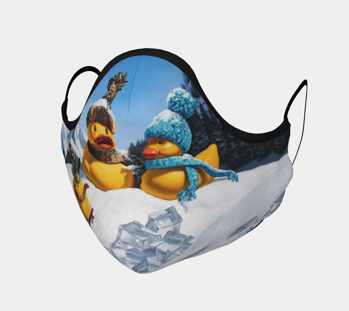 Cold Duck face mask