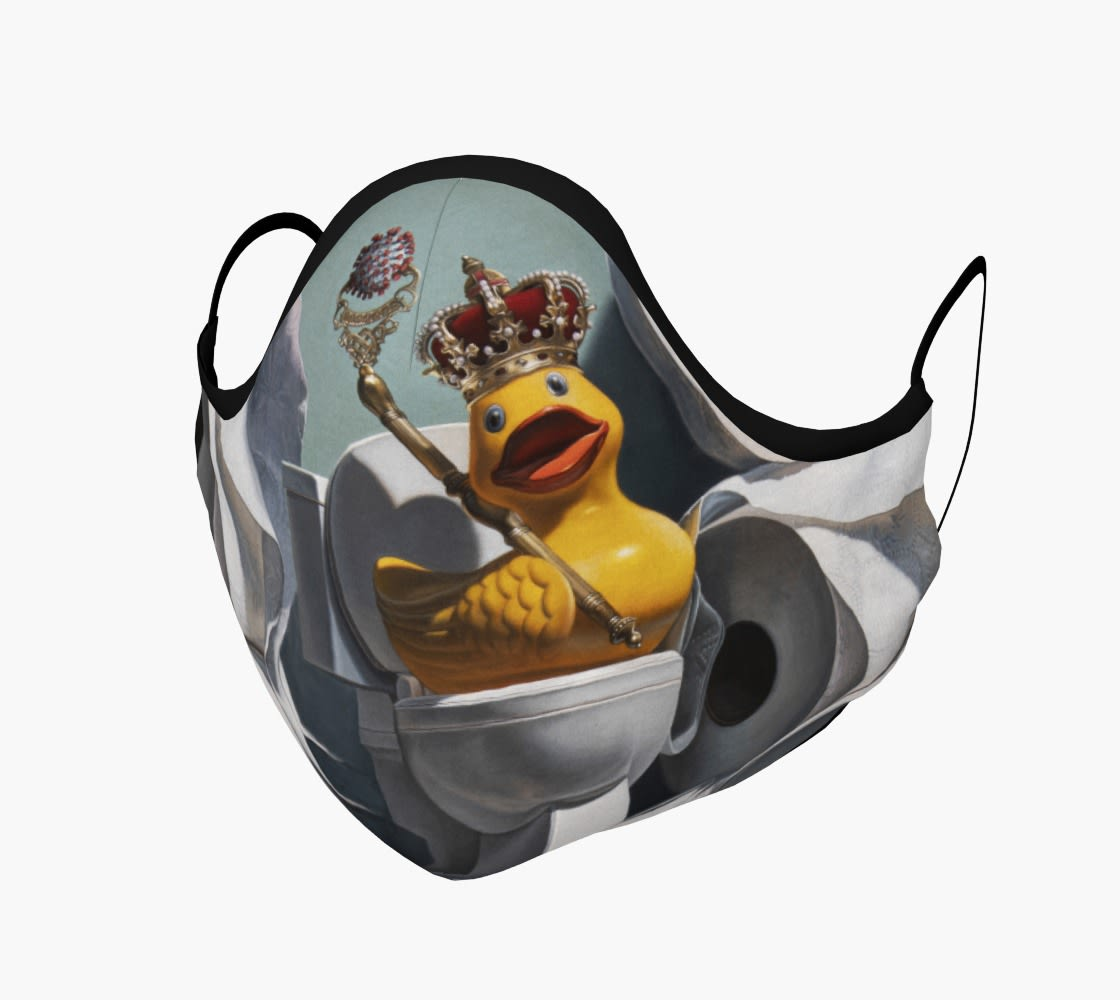 What the Duck?! face mask