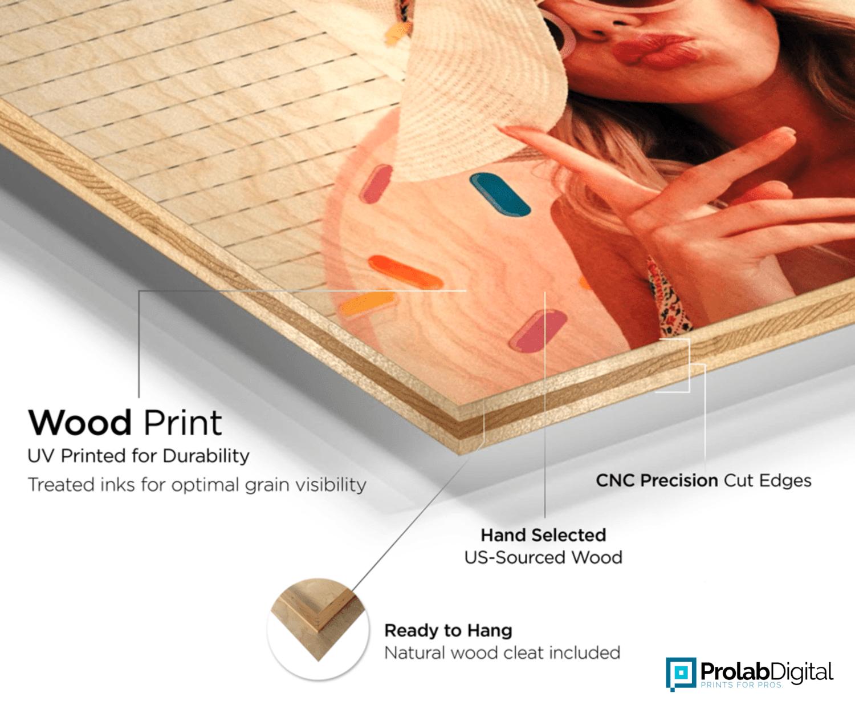 Custom Birchwood Print at Prolab Digital