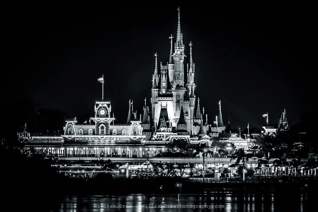Magic Kingdom Black and White