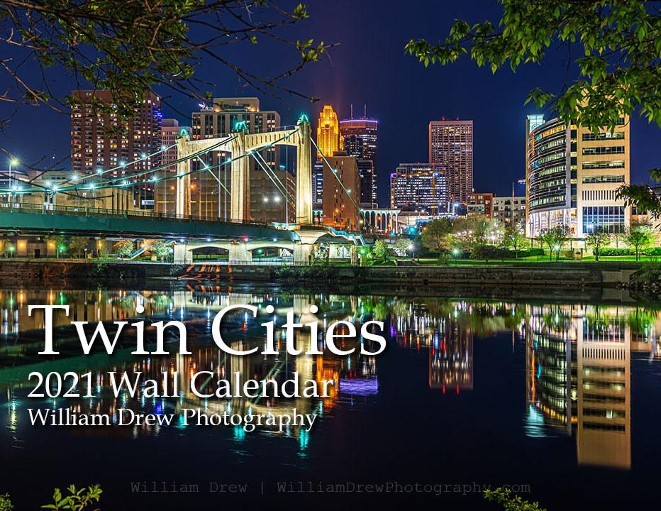 Twin Cities 2021 Wall Calendar
