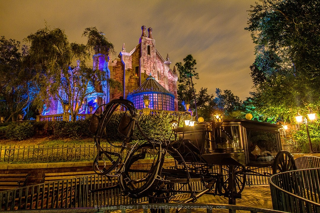 Haunted Mansion and Stage Coach