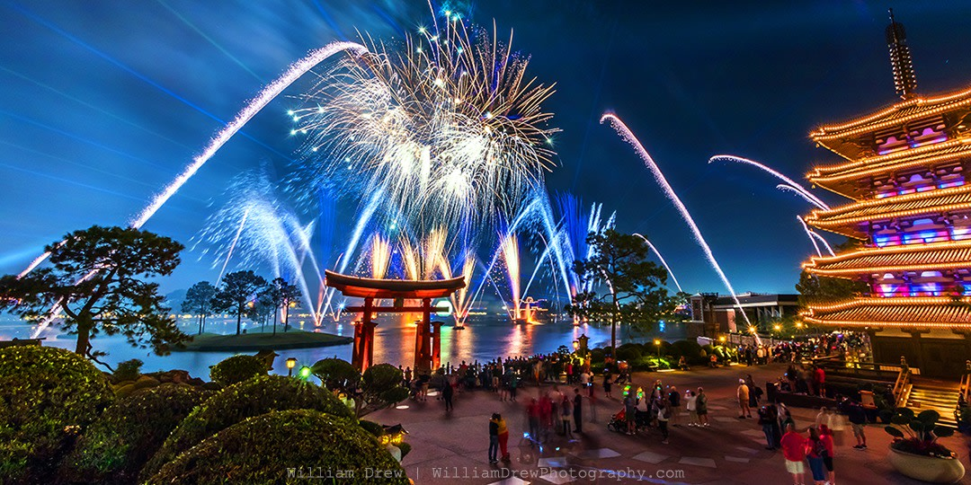 EPCOT Fireworks Spectacular 4