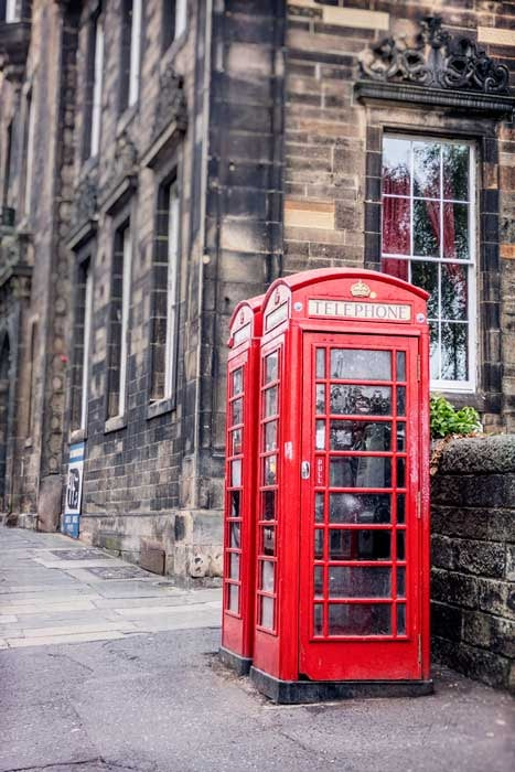 The Red Phonebooths