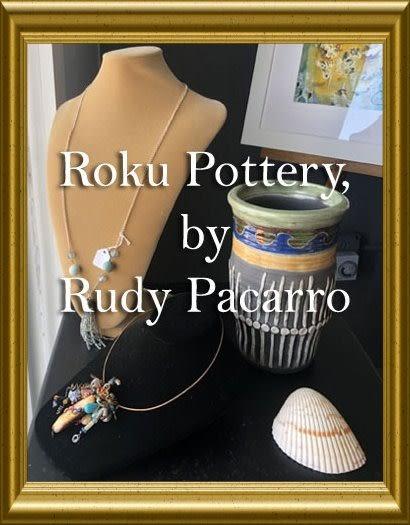Rudy Pacarro - Raku Pottery - Click Here