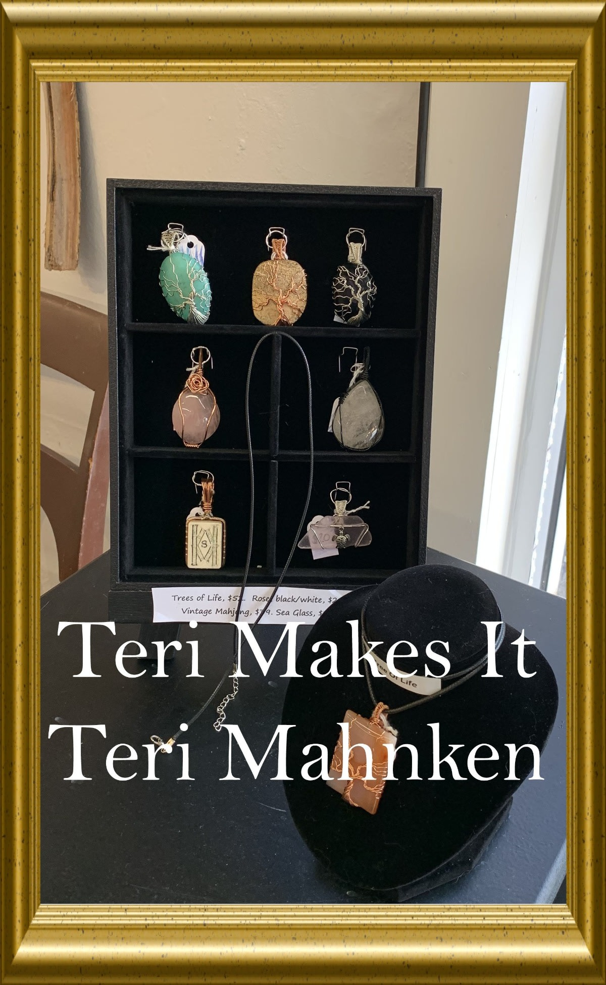 Hand Made Jewelry by Teri Mahnken - Click here for more information.