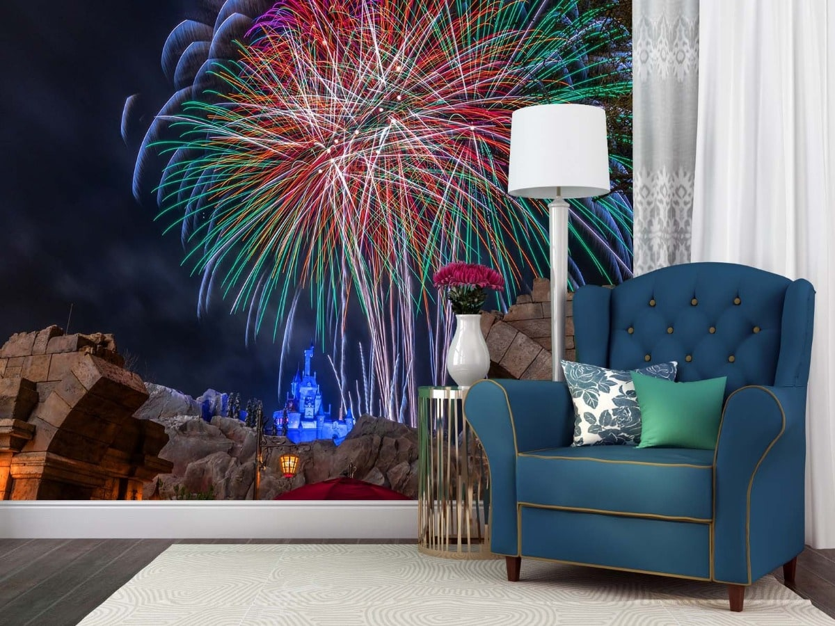 Beast's Happily Ever After 3 - Magic Kingdom Wall Murals | William Drew Photography