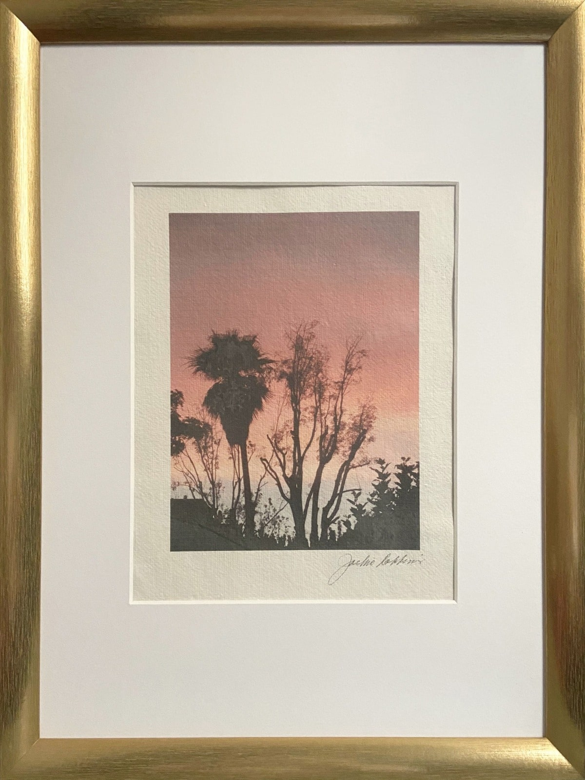 'peach sunset'