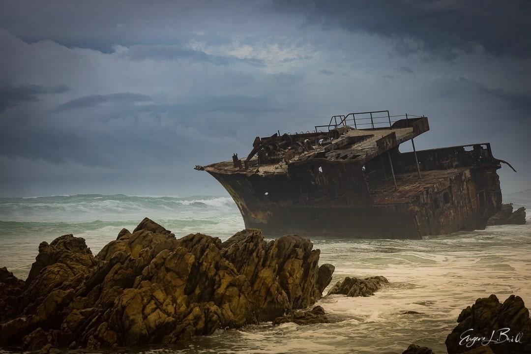 Shipwreck by Eugene Brill