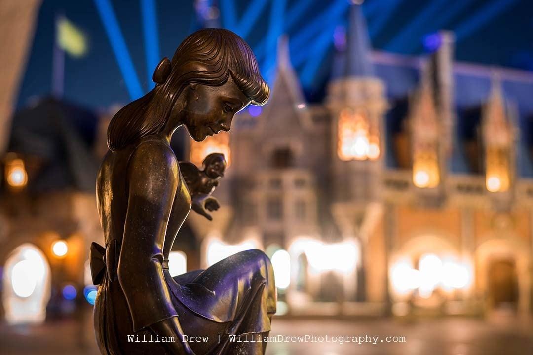 Cinderella Statue - Disney Images   William Drew Photography