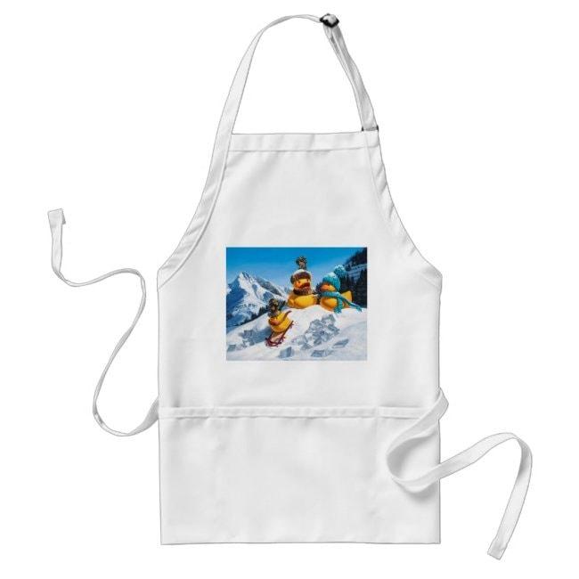 """Cold Duck"" apron"