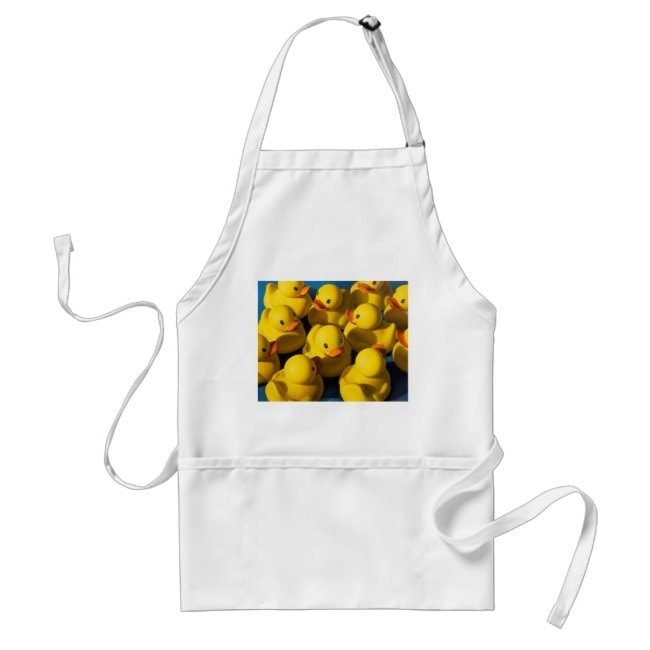 """""""A Cluster of Ducks"""" apron"""