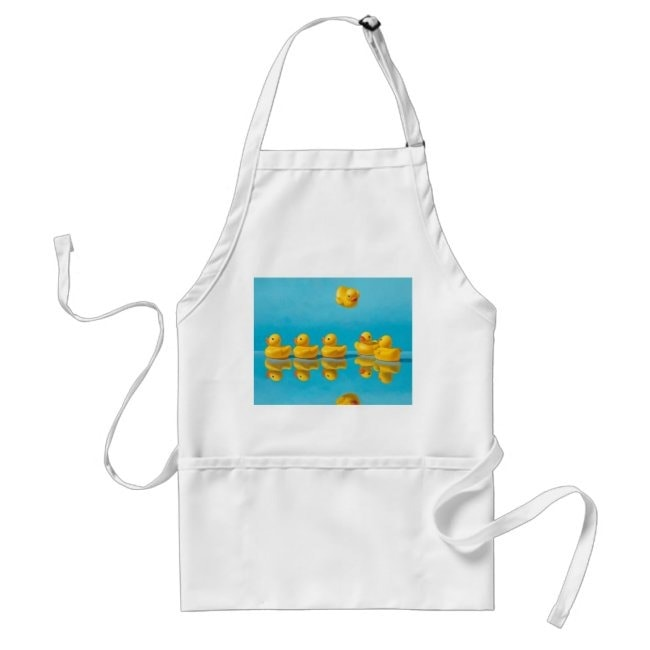 """""""Getting All Your Ducks in a Row"""" apron"""