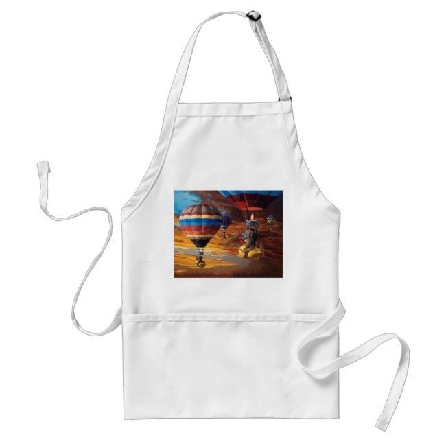 """""""Air Ducks"""" apron"""