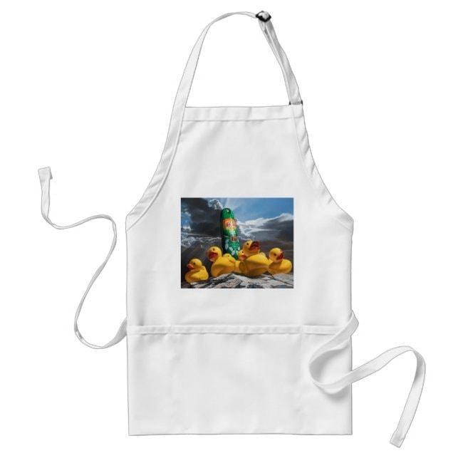 """Duck Off"" apron"