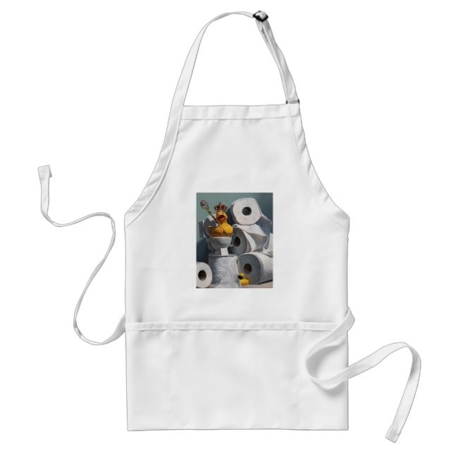 """""""What the Duck?!"""" apron"""