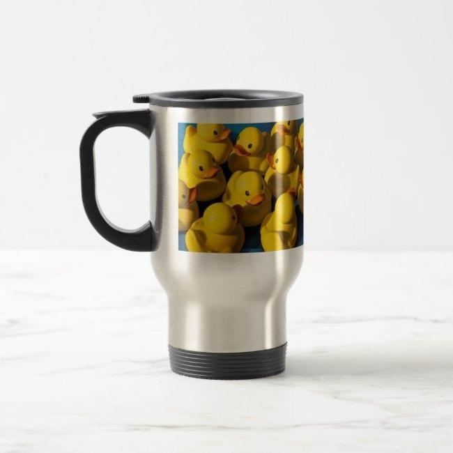 """Clusterduck"" travel mug"