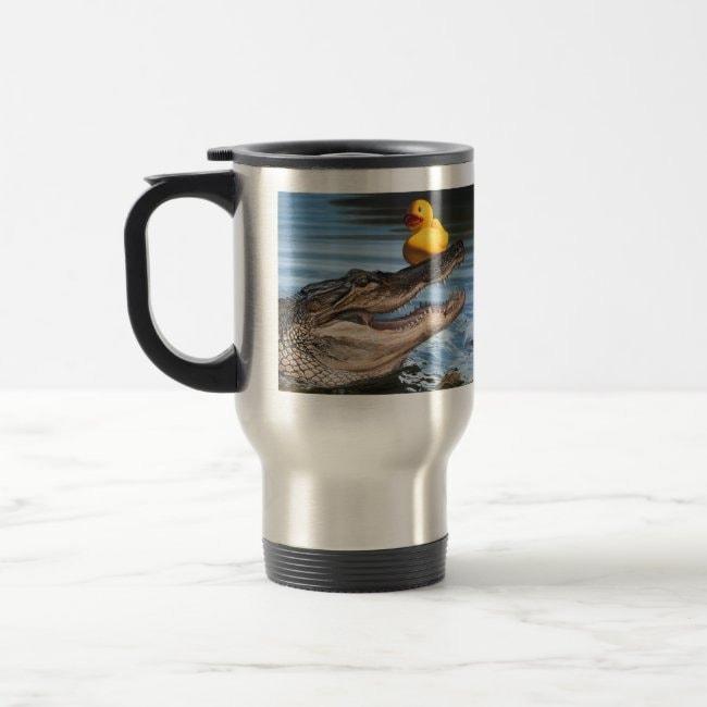 """Sitting Duck"" travel mug"