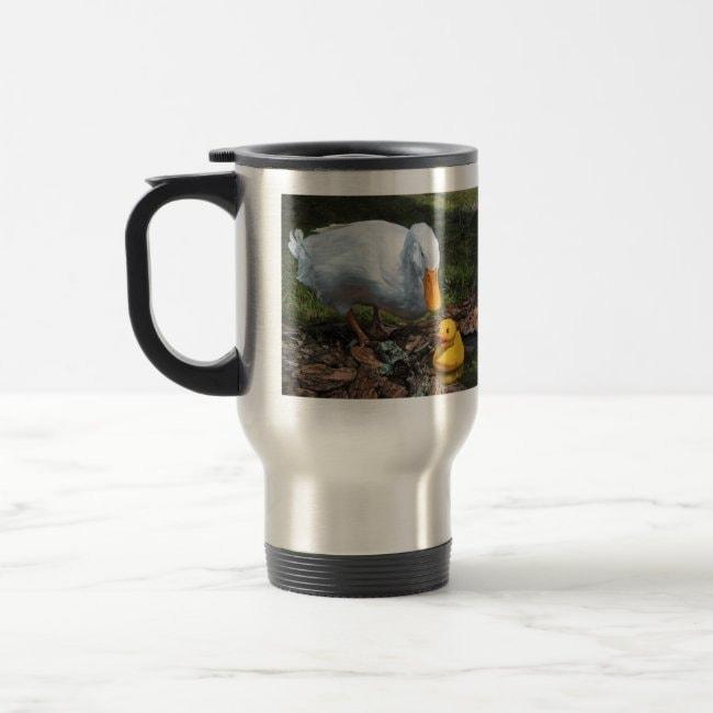 """If It Looks Like a Duck"" travel mug"