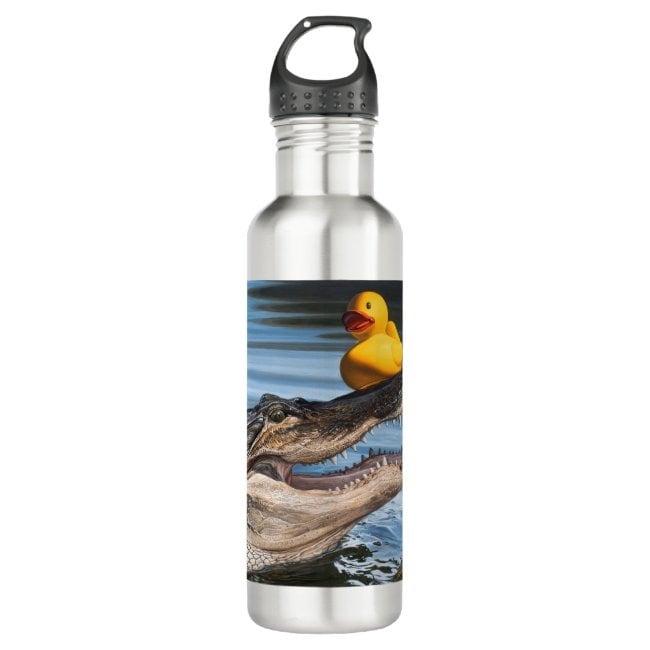 """""""Sitting Duck"""" water bottle"""
