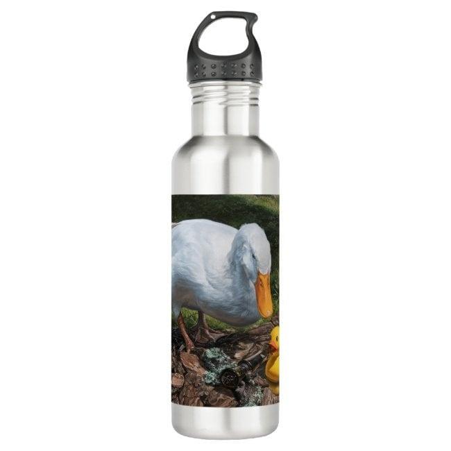 """""""If It Looks Like a Duck"""" water bottle"""