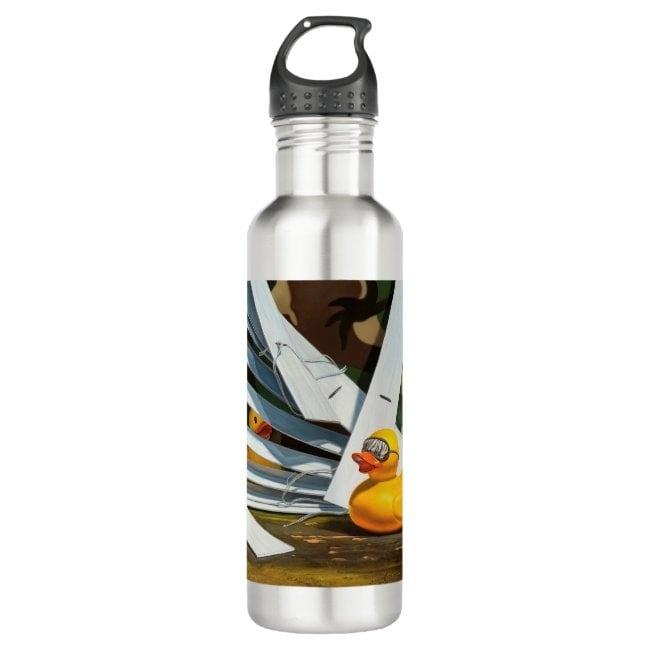 """""""Duck Blind"""" water bottle"""