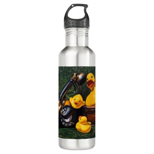 """Duck Call"" water bottle"