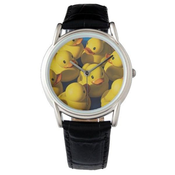 Cluster of Ducks wrist watch