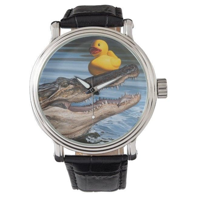 """""""Sitting Duck"""" wrist watch"""