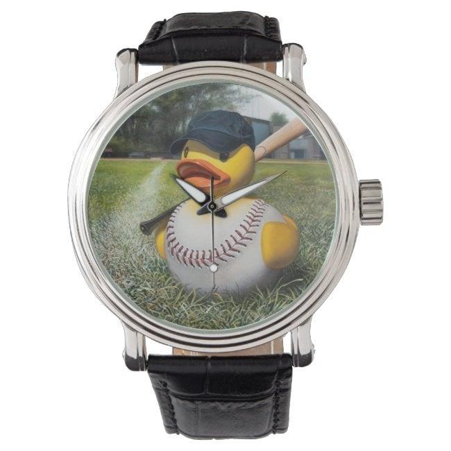 """Fowl Ball"" wrist watch"
