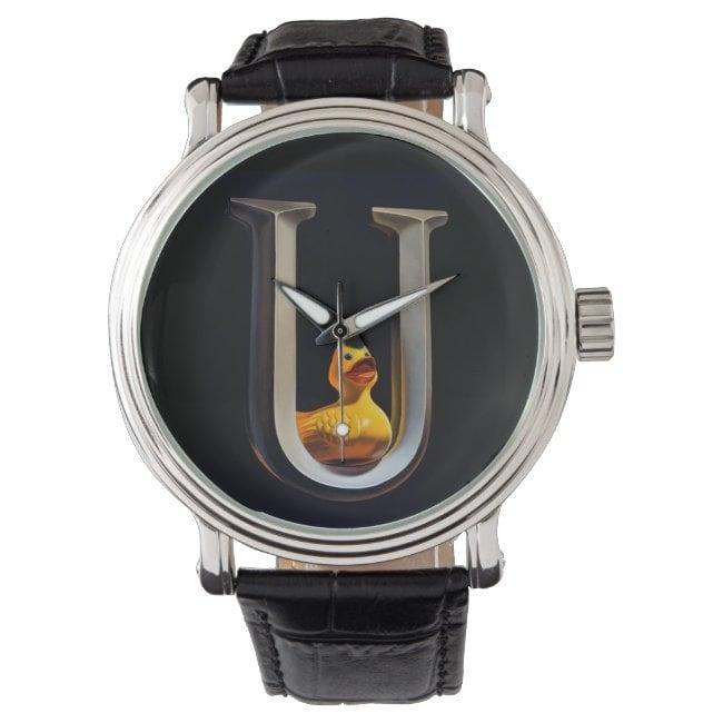"""Duck U"" wrist watch"