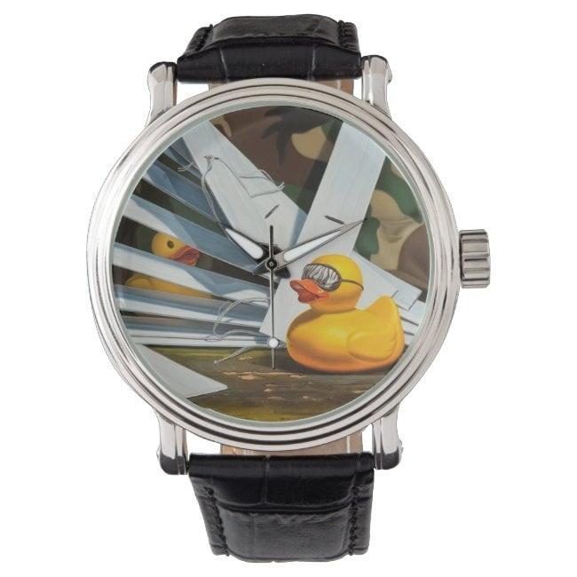 """""""Duck Blind"""" wrist watch"""