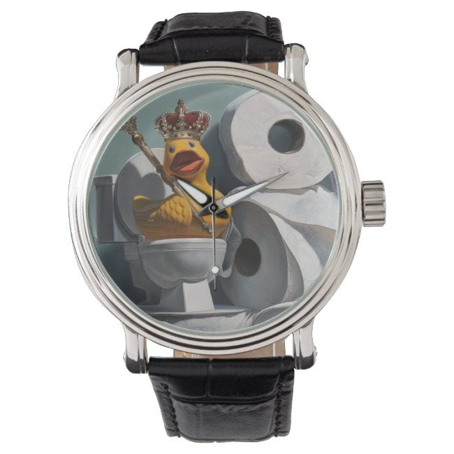 """""""What the Duck?!"""" wrist watch"""