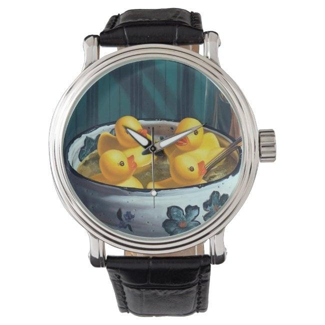 """""""Duck Soup"""" wrist watch"""