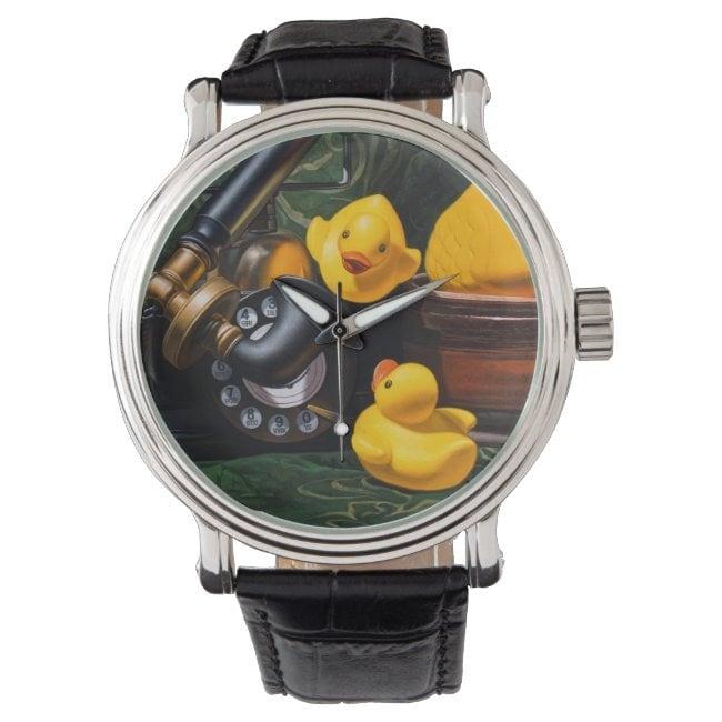 """""""Duck Call"""" wrist watch"""