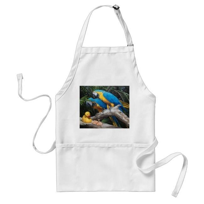 """""""Polly Wanna Quacker"""" apron"""