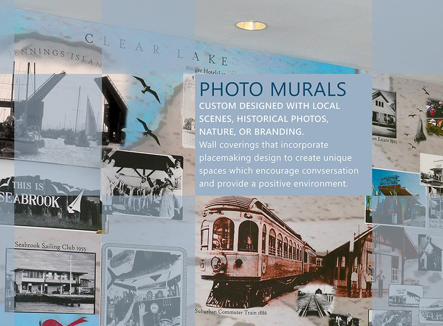 Digital Collage Murals