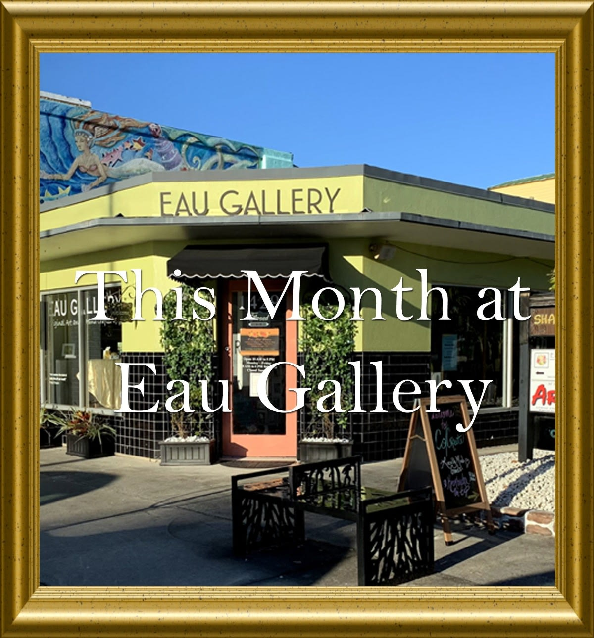 What's Going On at Eau Gallery