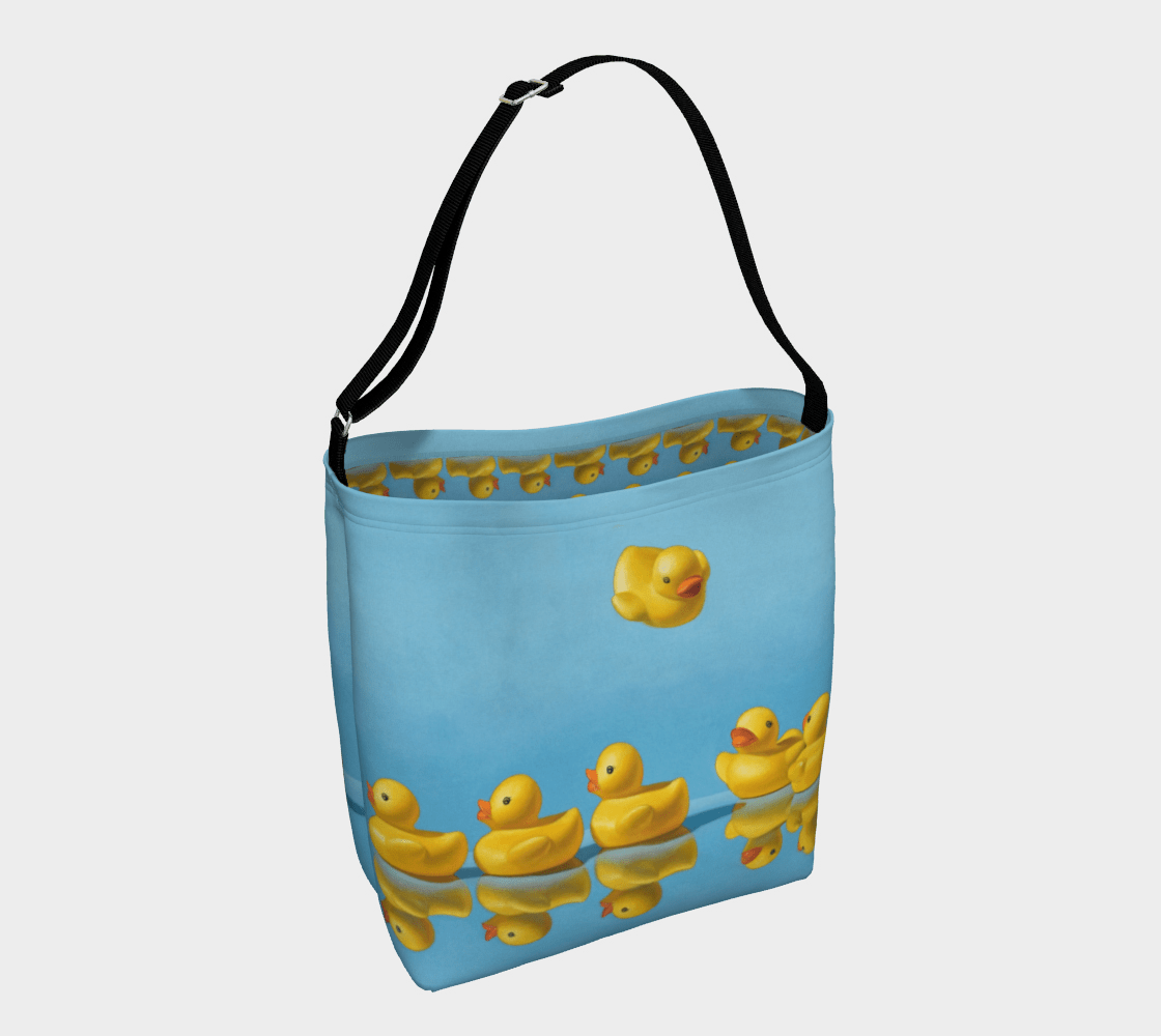 """""""Ducks in a Row"""" Day Tote"""