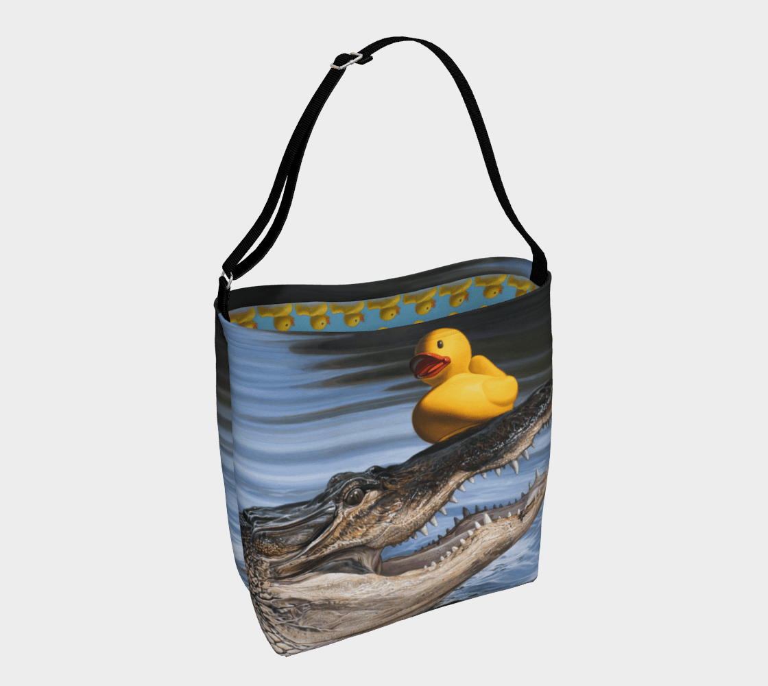 """""""Sitting Duck"""" Day Tote"""