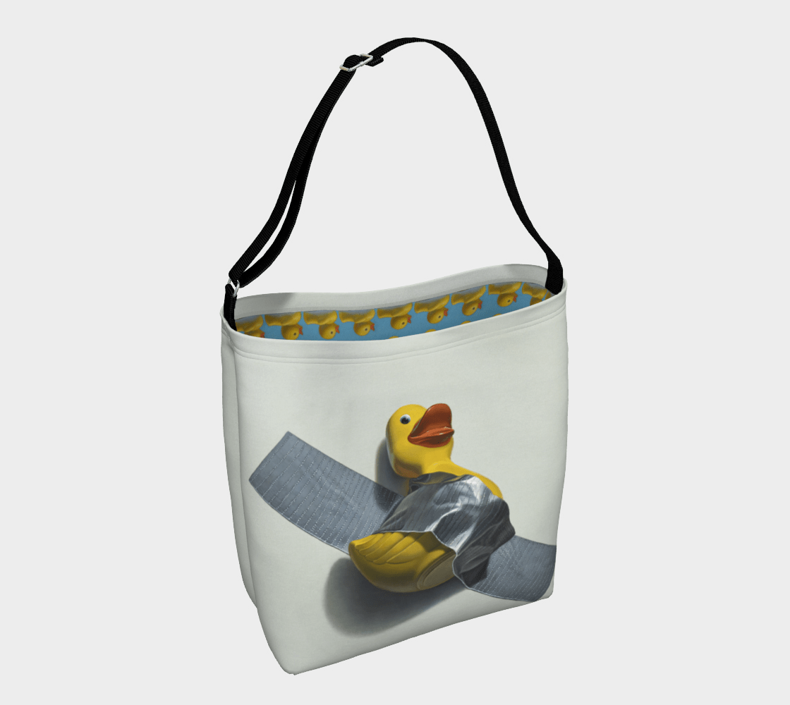 """""""Duck Taped"""" Day Tote"""