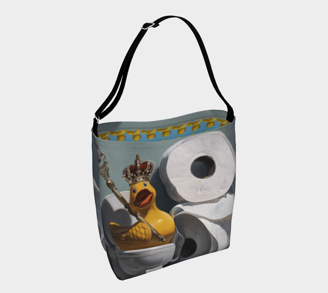"""""""What the Duck?!"""" Day Tote"""